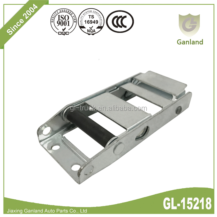GL-15218 Truck Tautliner Side Curtain Steel Over Centre Tysafe Buckle