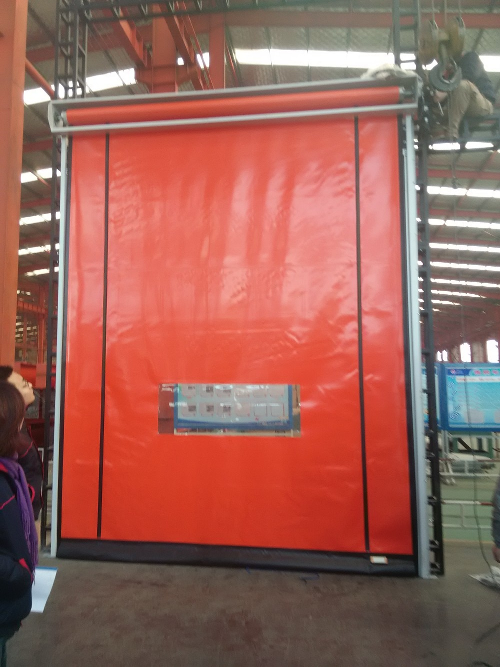 Leading high- tech fast rolling shutter door |Rapid roller shutter door