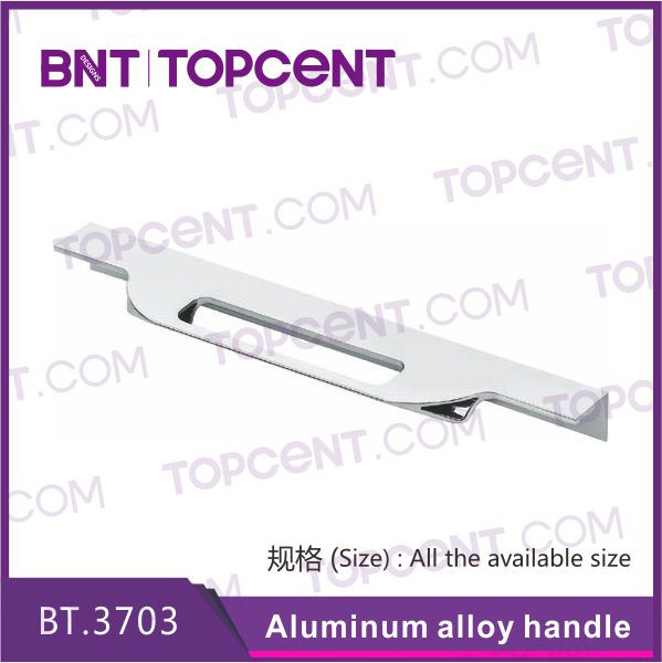 Hardware modern kitchen aluminum edge handle