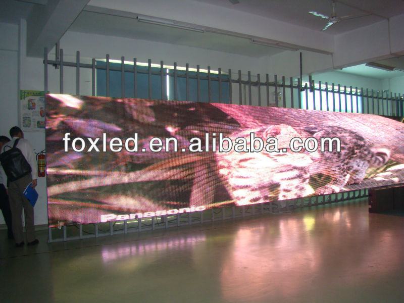 wholesale price best effect first class p6 led advertising displayer