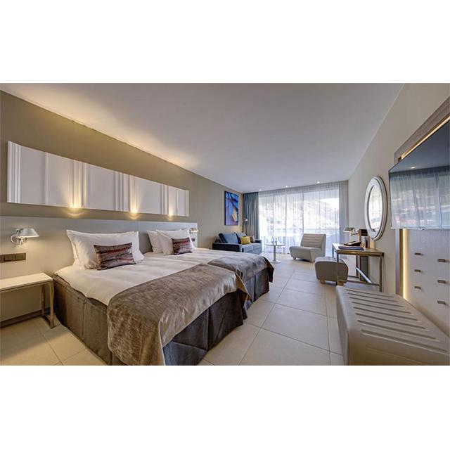 Ho-1075 Dubai Hotel Apartment Villa Bed King Size Bed Modern Luxury Wooden  Bedroom Furniture - Buy Hotel Villa Furniture,Dubai Hotel Furniture,Hotel  ...