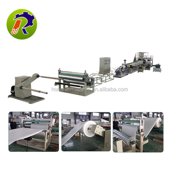 polyethylene foam sheet machine