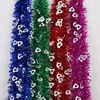 Holiday Hot Decor Products Colorful Christmas Tinsel Garlands