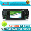 auto central multimedia with GPS Navigation system 4.3 Inch HD Touchscreen for 2003-2005 Jeep Wrangler Dodge Chrysler