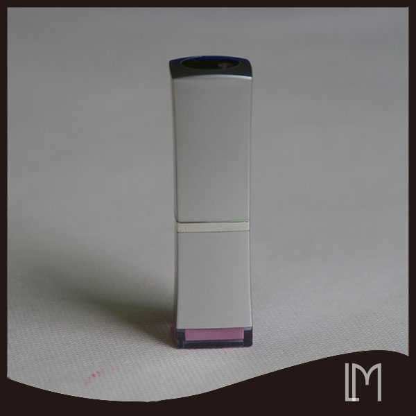 High quality luxury matte silver tube lipstick wholesale