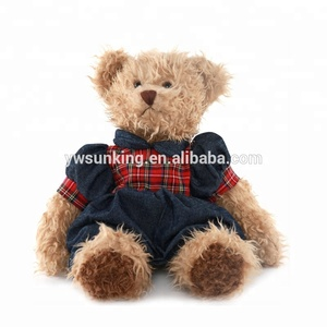 Custom 12 inch teddy bears couple lovers teddy bear pair christmas gift plush toy