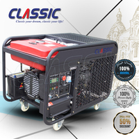 CLASSIC(CHINA) 11KW 11Kva AC Three CE Standard Low Fuel Consumption Honda Portable Diesel Generator