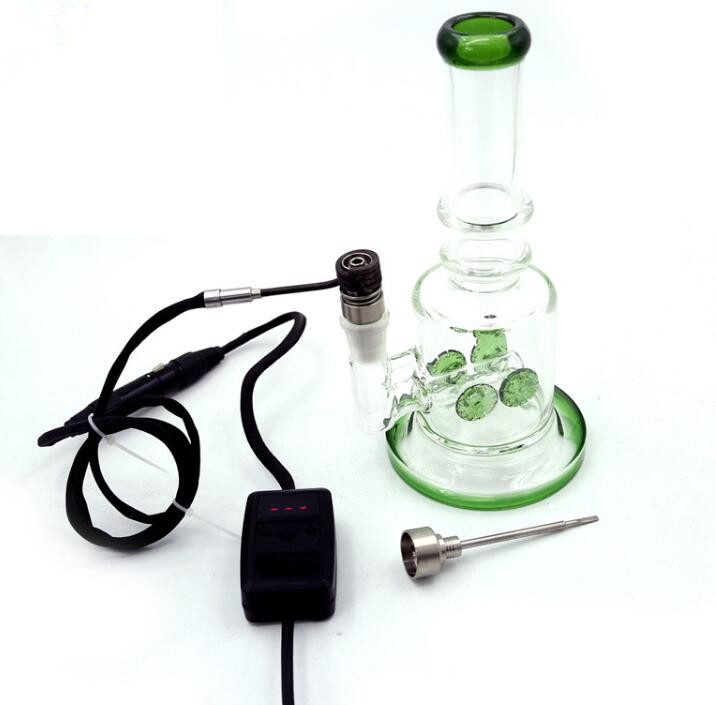 electronic e nail dabs Temperature Controller e-nail d nail, with Coil Heater and titanium nail