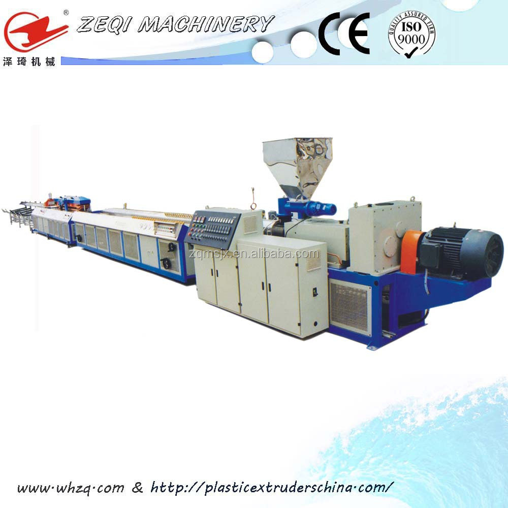 Plastic PVC Window sheet extruder