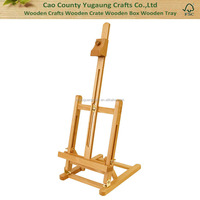Small Tabletop Studio H-Frame Easel Adjust wooden desktop easel