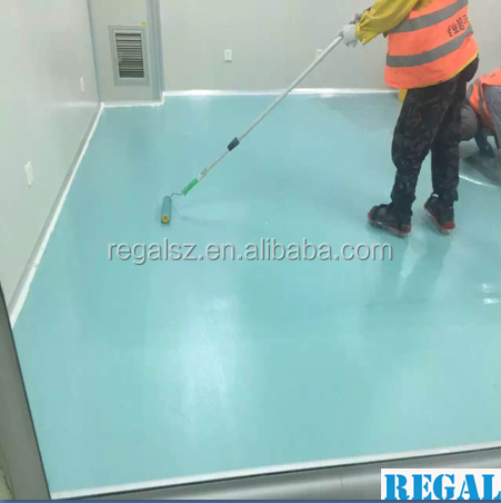 Regal polyurethane flooring coating paint for general industrial warehouse