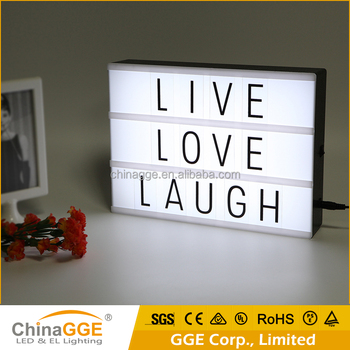 Letter Light Boxes.Abs A4 Led Cinema Light Box Lightbox With 90 Letters Symbols Led Letter Light Box Display Customized Spell Your Own Message Buy Letter Light