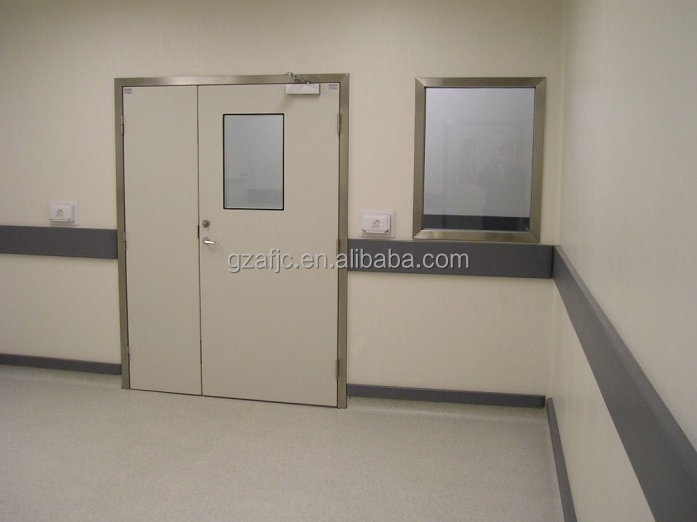 stainless steel hospital operating theatre doors clean room door clinic door & Stainless Steel Hospital Operating Theatre DoorsClean Room Door ...