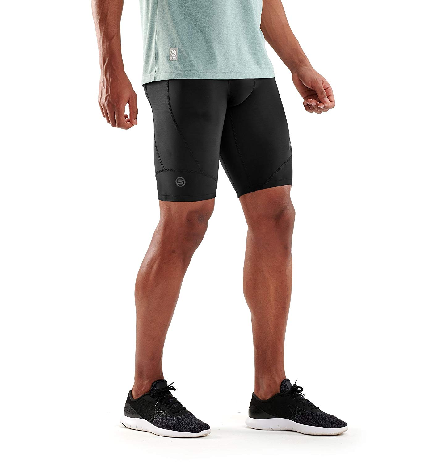 Clothing & Accessories Activewear Skins A200 Half Tights Compression Running Pants Fitness Running Sports Shorts Up-To-Date Styling