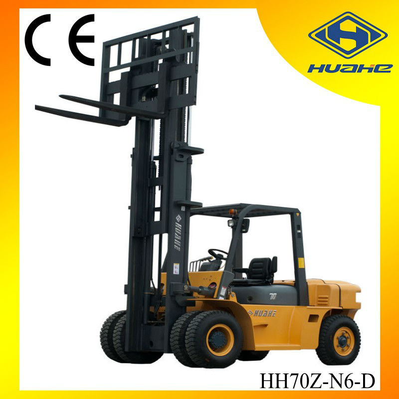 7T Brand New Diesel Forklift with Chaoyang 6102 Chinese Engine