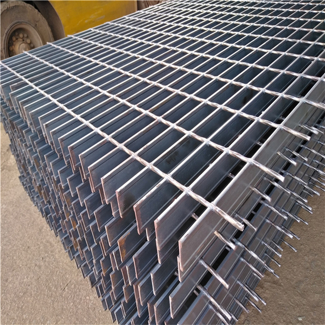 hot dip galvanized low carbon steel domed grating