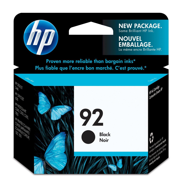 HP 92 Black Original Ink Cartridge (C9362WN) for HP Photosmart 2575 HP PSC 1510
