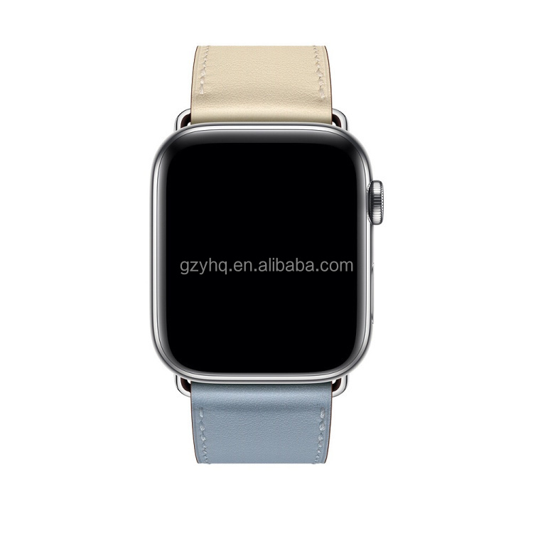 ¡Venta al por mayor! correa de cuero para Apple Watch Series 1 2 3 4 5, Correa deportiva para IWatch