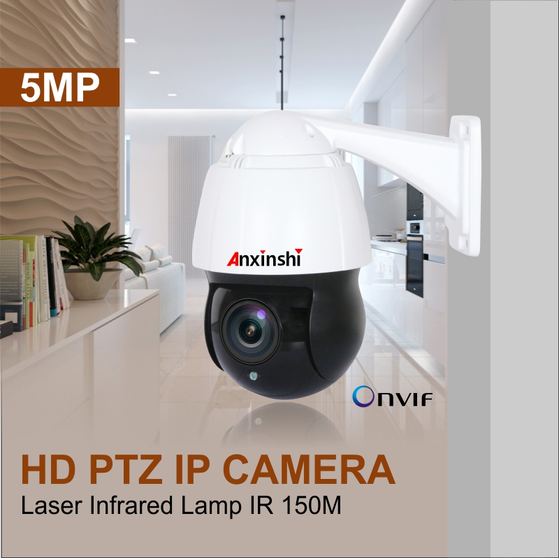 2019 Mini Style 20X Zoom PTZ 5MP Network IP Camera