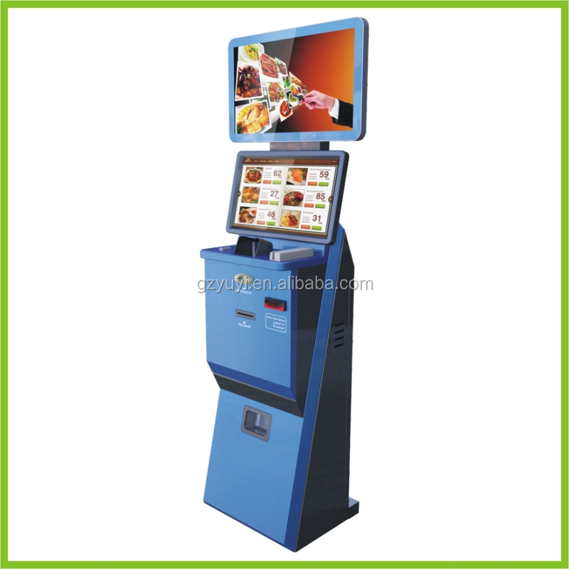 fast food ordering system Restaurant kiosks / self-service  in planning their first fast food restaurant, the partners recognized that self-order kiosks would make the ordering process.
