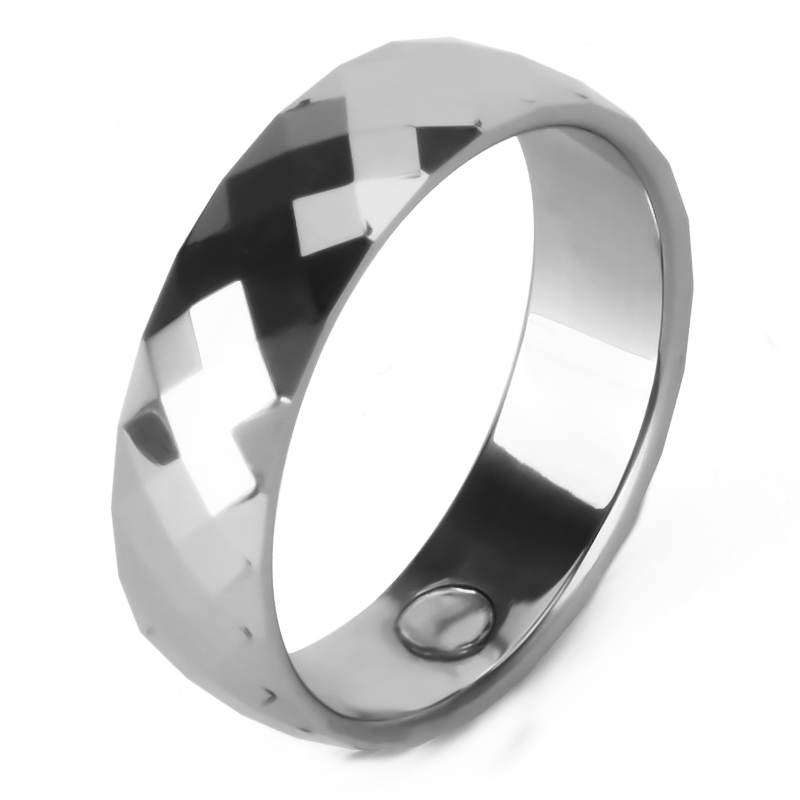 High Quality Bio Healthy Magnetic Tungsten Ring Jewelry