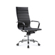 Double function luxury executive wooden frame swivel genuine leather office chair