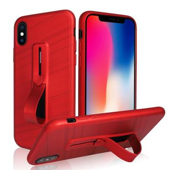 new concept 899a5 54914 For Iphone X 10 Brushed Soft Tpu Kickstand Phone Case Finger Ring Hand Loop  Strap Holder Back Cover - Buy Phone Case For Iphone,Hand Mobile Phone ...