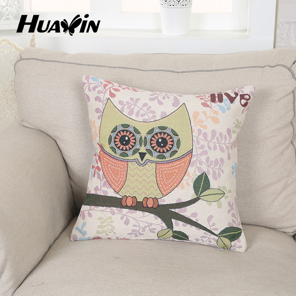 wholesale printed fashion sofa back rest square cartoon children cushion