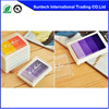 Colorful Office pigment stamp pads 4mm square ink pad plastic ink stamp pad for promotion