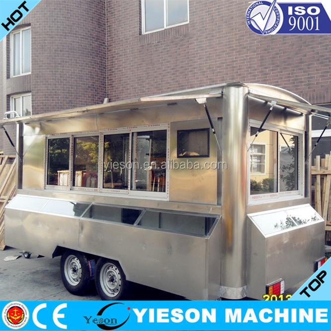 fast food truck zum verkauf eis anh nger ys fv450 imbiss. Black Bedroom Furniture Sets. Home Design Ideas