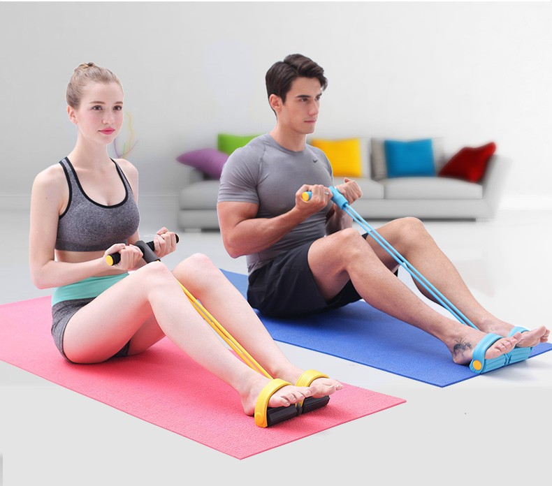 Enhanced model hand pedal exercise band/ foot exercise pull rope