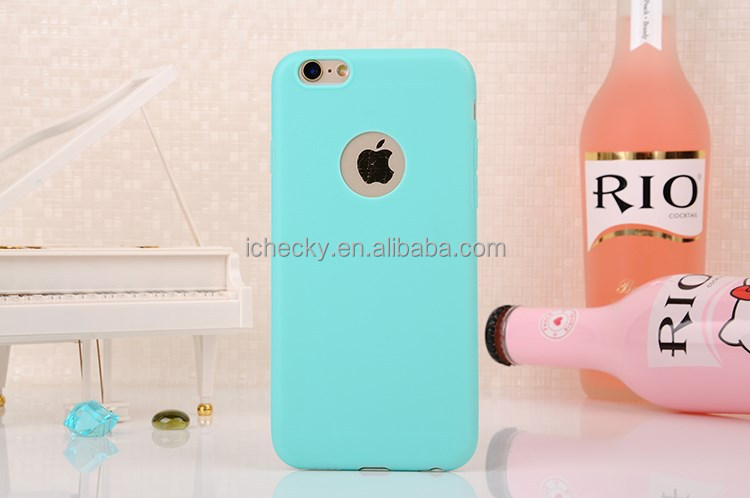 For iPhone 6 Soft TPU Case Silicone Gel Cover Back Skin
