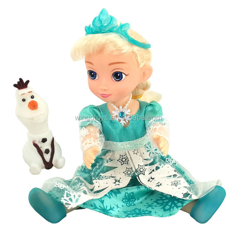 New Arrival Musical Amp Flashing Light Frozen Snow Glow Elsa