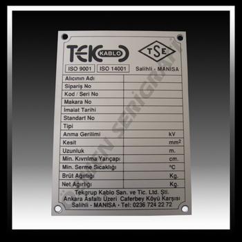 Aluminium Label For Machine Id S Buy Aluminum Sticker