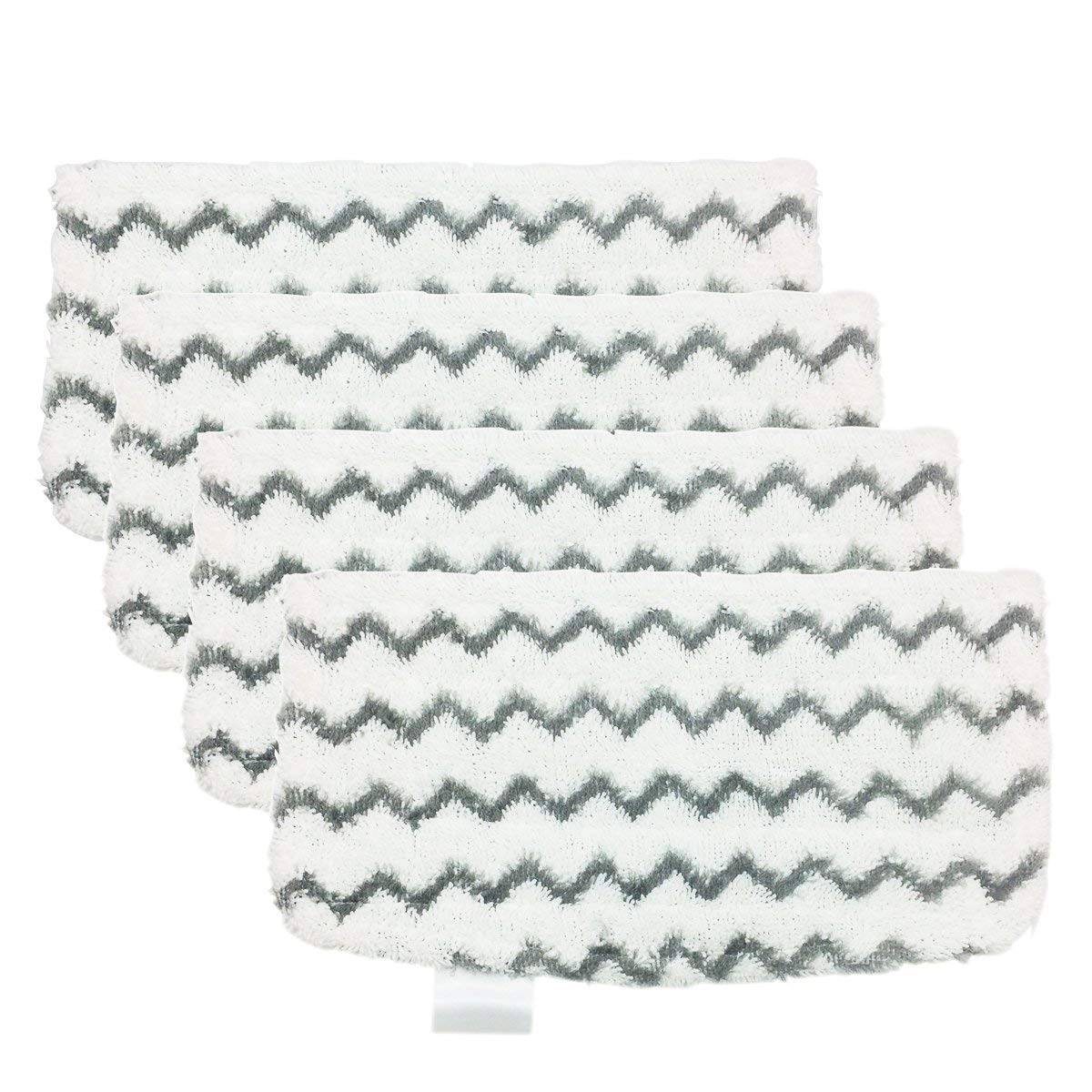 BBT Steam Mop Pads Fit for Light N Easy S3601 Steam Mops Replacement,Pack of 6 BAMBOOST