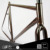 Taiwan Fixed Gear Wooden Water Decal Vintage Retro 700C Bicycle Frameset For City Bicycle And Road Bicycle