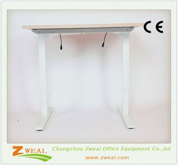 Computer Desk Adjule Rolling Table An Affordable Sit To Stand Office Furniture For Tall