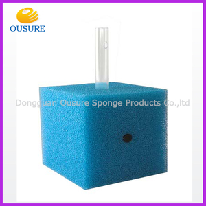 2016 customized high quality blasting filter foam sponge