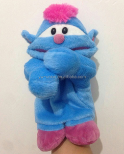 popular eco-friendly material custom educational OEM animal shape hand puppet