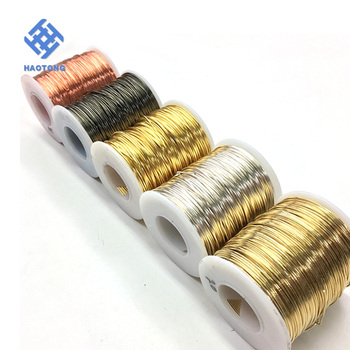 Factory Price Diy Craft Twisted Colored Aluminum Wire/twisted Wire ...