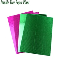 High Quality Fresh Flower Decorative Paper Sheet Plain Color Gift Wrapping Corrugated Paper