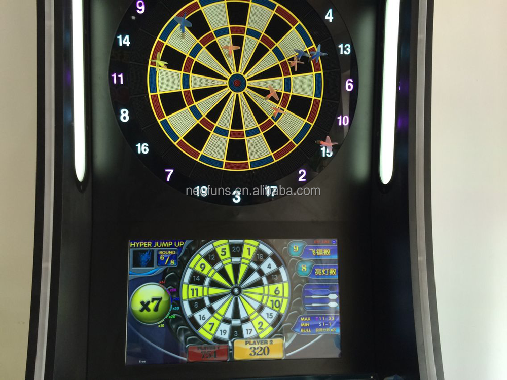 Good Quality Arcade Game Machine/ Coin Operated Dart Game Machine ...