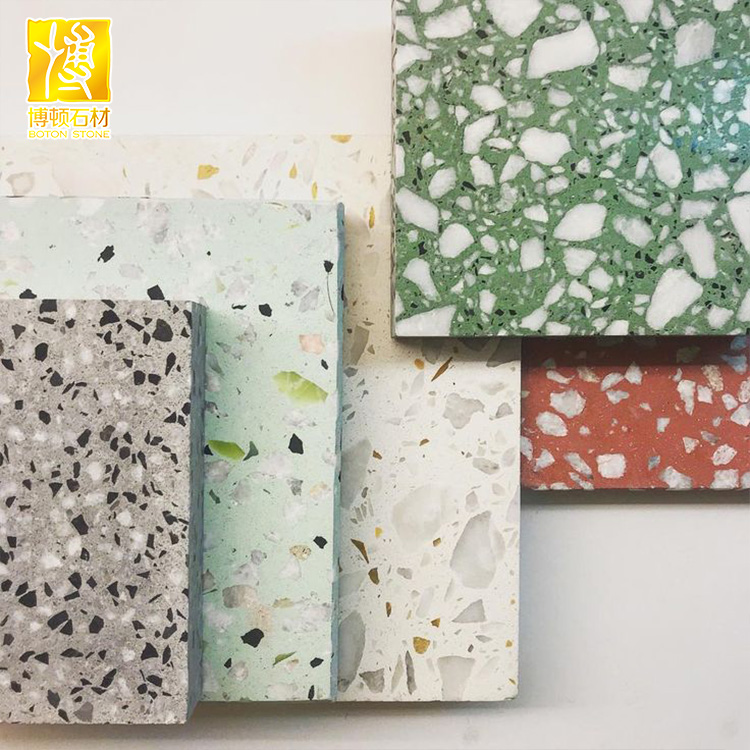 Custom Any Colors Terrazzo Tiles For Hospital School Flooring Buy Terrazzo Custom Terrazzo Tile Terrazzo Tile For Flooring Product On Alibaba Com