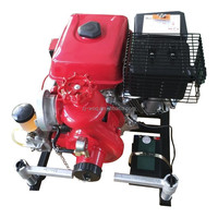 BJ-7G 9HP portable fire extinguishing pump equipped with Lifan engine