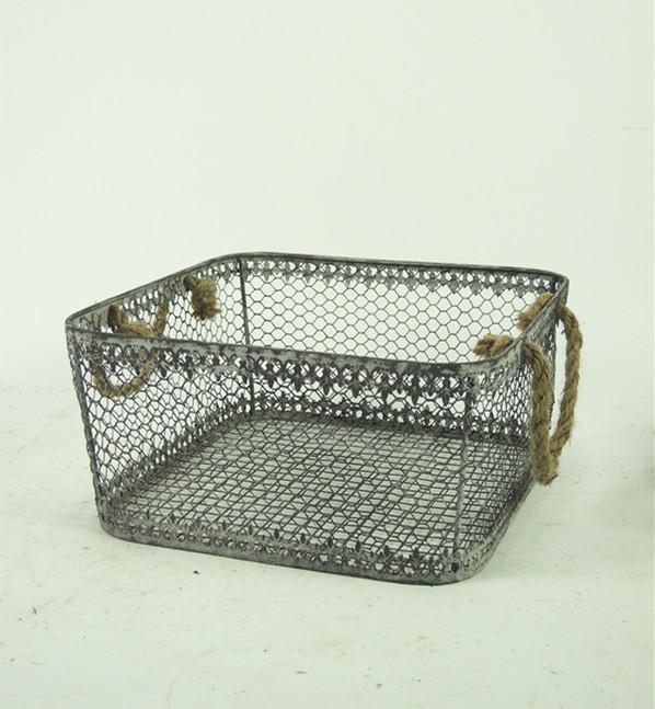 Wholesale Vintage Decorative Kitchen Wire Basket
