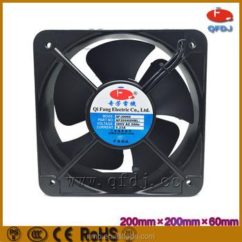20060mm 110v 240v Cabinet Cooler Fan 200mm Ac Cooling