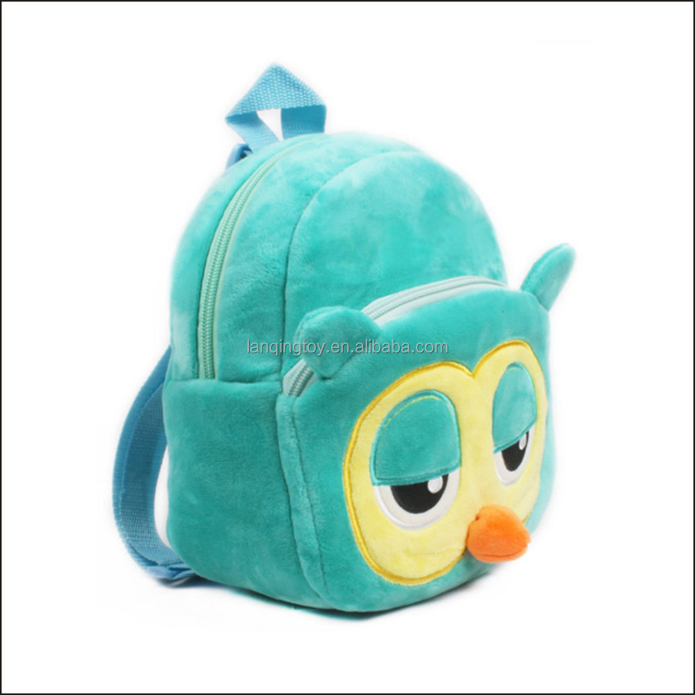 Plush Owl Baby Carrier Backpack <strong>School</strong>