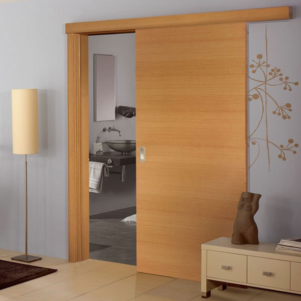 Melamine Finished Wooden Cheap Sliding Door Design Buy