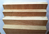 Furniture grade keruing plywood sheet with hardwood core