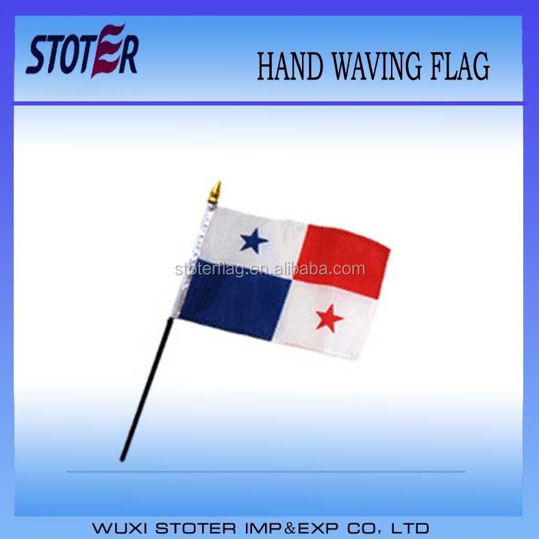 Panama 30*45cm Hand Waving Flag